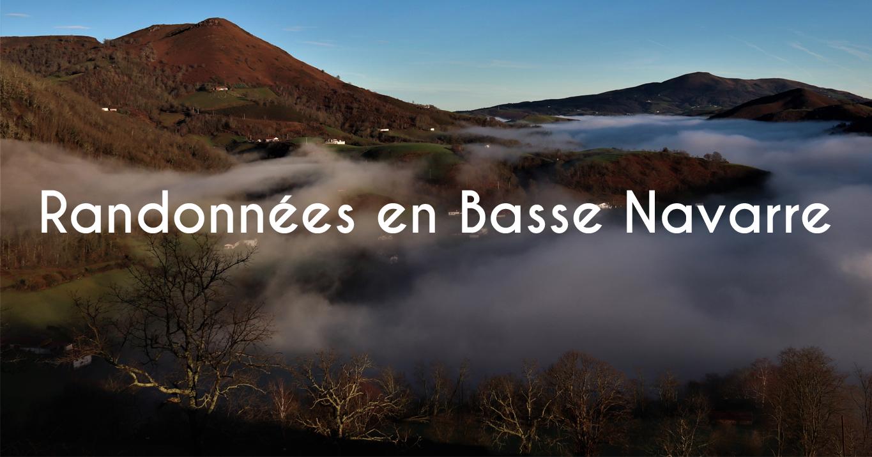 Randonnées pédestres en Basse Navarre